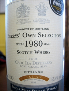 Caol Ila Berry Bros. and Rudd
