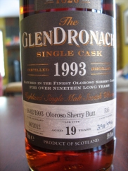glendronach199319label