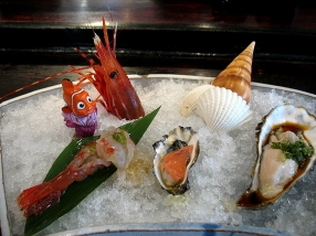 Shellfish trio. Nemo is not eaten.