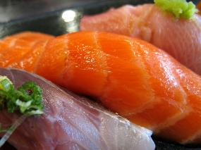 And at the wild ocean trout.