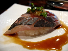 Aji. Quite excellent, and another of our favourites today.