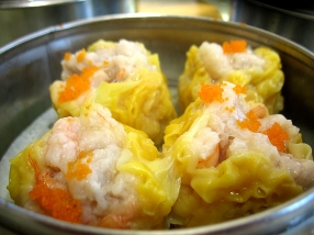 Shrimp and pork shiu mai. Can't comment on these as the boys ate them all.