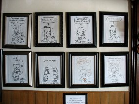 This is for my friend Tom: Jitlada is Matt Groening approved.