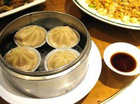 Soup dumplings--serviceable