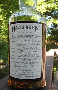 Hazelburn 8, Sauternes