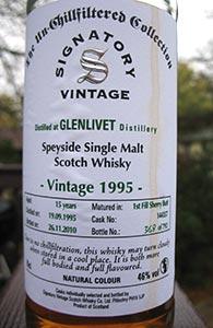 Glenlivet 15, 1995