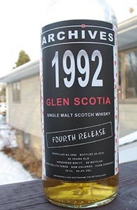 Glen Scotia 20, 1992, Archives