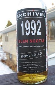 Glen Scotia 20, 1992, Archives