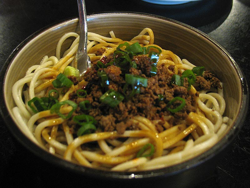 Dan Dan Noodles: Another classic and another of our boys' favourites.