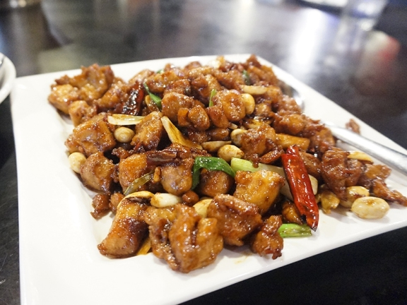 Kung Pao Chicken: Another Sichuan classic, a tad too sweet here.