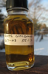 Glen Grant 1967, Scott's Selection