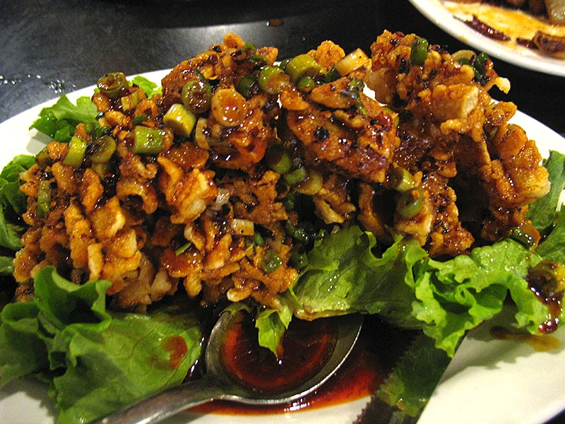 Three Flavour Squid: This made its debut in Feb 2012 as part of the Chinese New Year menu and has stuck around. Not always available but at its best is among the five best dishes available in the Twin Cities.