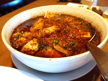 Boiled Fish in Szechuan Hot Spicy Sauce