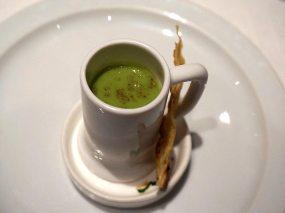 green pea shorba