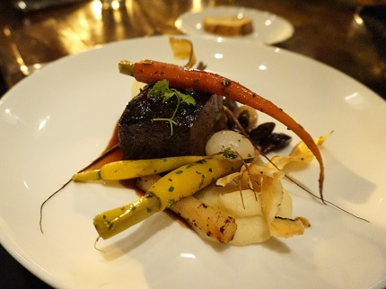 Short Rib – Beef, Horseradish Potatoes, Root Vegetables, Red Wine