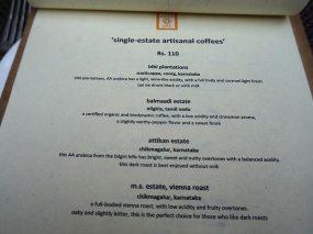 single estate coffees