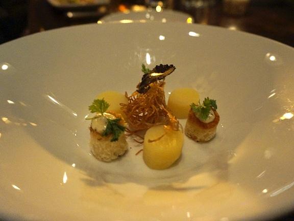 Soup – Potato, Brioche, Burgundy Truffle