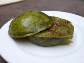 spinach pao