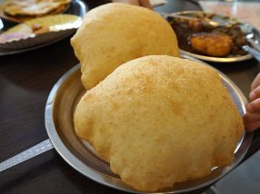 Chhola-Bhaturas (these are just the bhaturas)