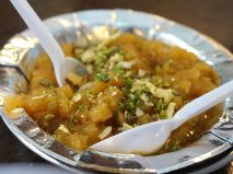 And some rather decadent moong-dal halwa.