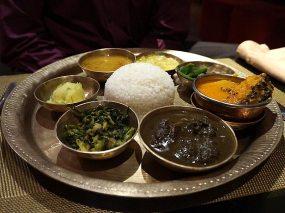 The thali.