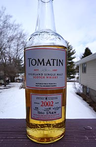 Tomatin 2002