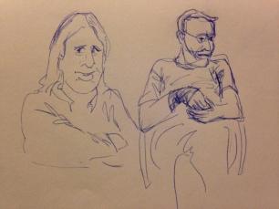 Sketches by Stephanie Cox