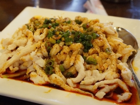Grand Szechuan: Spicy Hammered Chicken