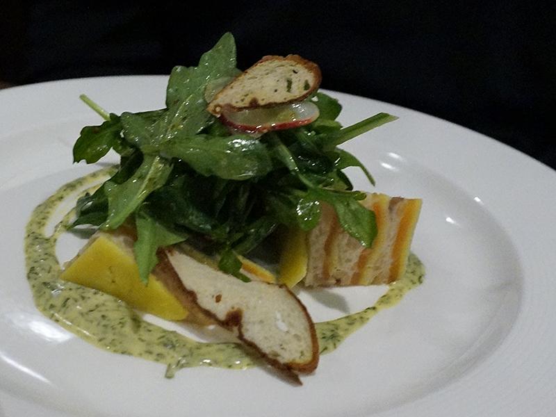 Brasserie Zentral - Smoked Fish Tort