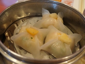 Yangtze: But these scallop dumplings were a little dry.