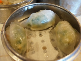 Yangtze: The shrimp and chive dumplings were quite good though.