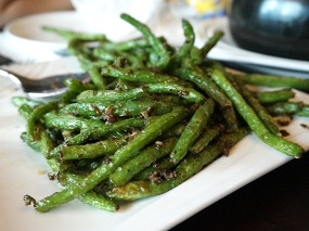 Little Szechuan: Green Beans