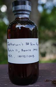 Jefferson's 10 Rye