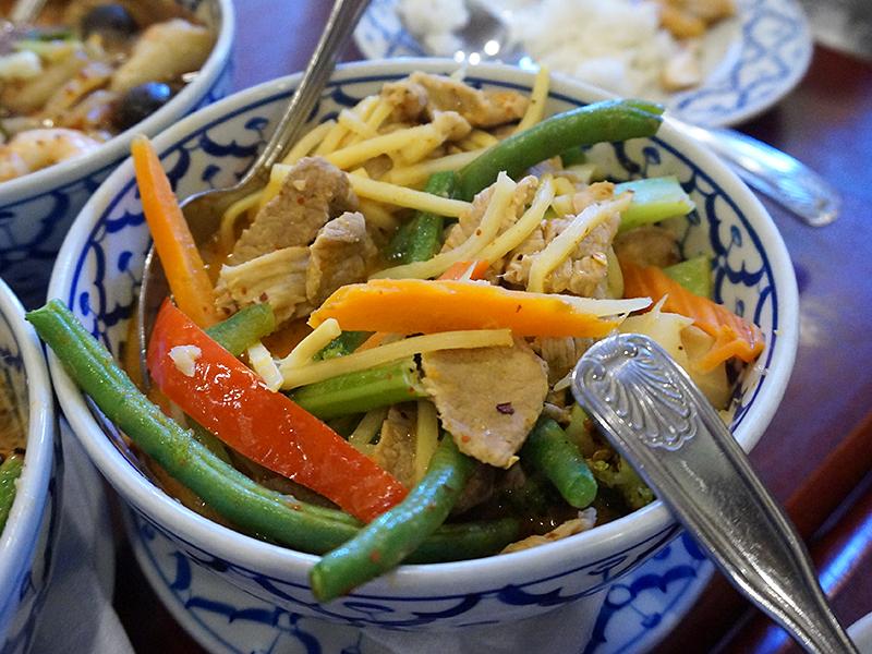 Supatra Thai: Red Curry with Pork