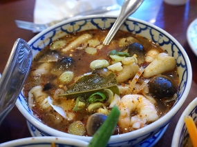Supatra Thai: Tom Yum Shrimp