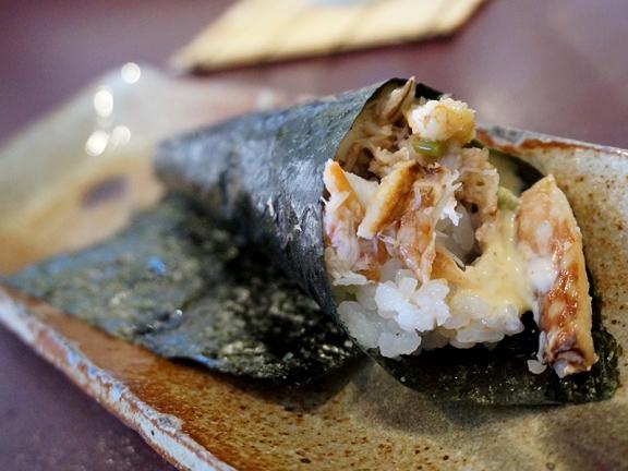 Kiyokawa: Blue Crab Handroll