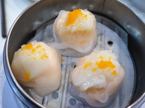 Sea Harbour: Fish Roe with Scallop Dumpling