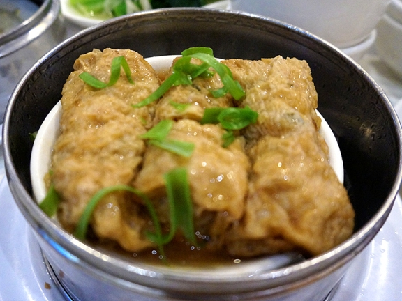 Sea Harbour: Bean Curd Skin Roll with Seafood