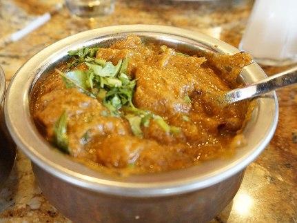 Karaikudi Chicken. I'm not sure if this is some ersatz dish but it was pretty good.