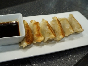 These gyoza were acceptable.