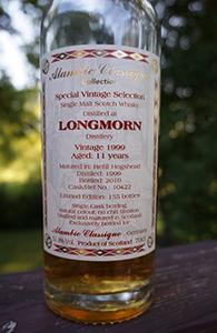 Longmorn 11, 1999, Alambic Classique