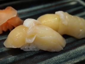 The scallop (from Hokkaido, I think), however, was actively bad. Not sweet at all, it just didn't seem fresh at all.