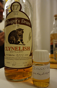 Clynelish, Manager's Dram