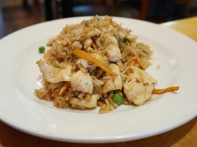 Fried Rice: They have a small children's menu with non-spicy things on it. This was the chicken fried rice and was appreciated by 50% of the kids in attendance.