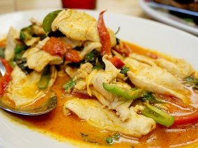 Bangkok Thai Deli: Thick Curry with Chicken