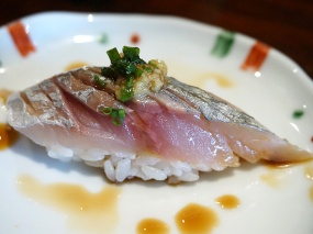 Spanish mackerel--always done very beautifully here.