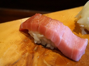 And then some medium-fatty tuna belly.