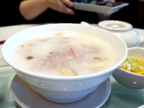 A good bowl of congee is a lovely thing at brunch.