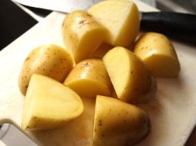 Yukon golds or similar are good for texture.
