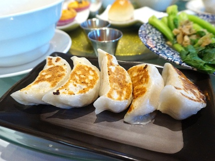 I didn't taste these potstickers but them that did seemed to like them.
